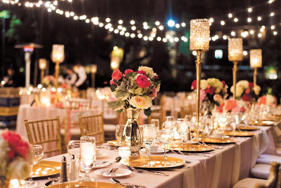 تنسيق حفلات زواج