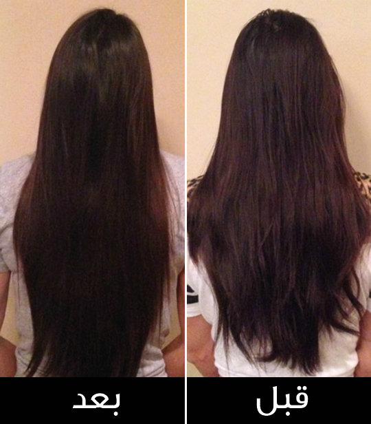 طريقة زيت جوز الهند لتكثيف الشعر