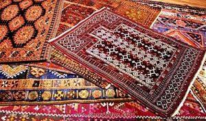 الفرق بين السجاد الحرير والصوف