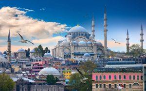 مناطق شهر عسل في تركيا