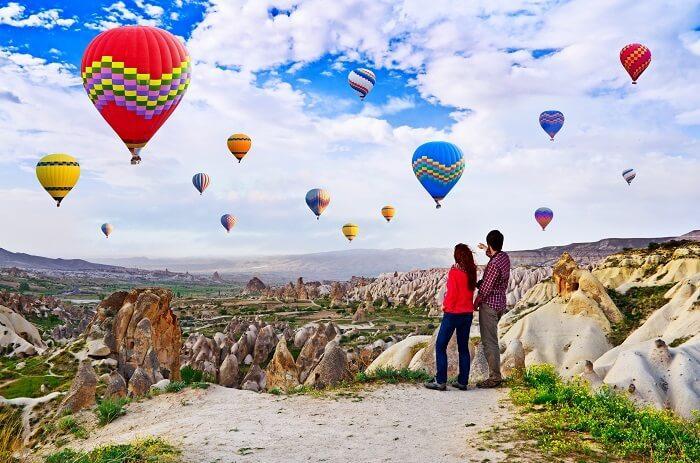 شهر العسل في تركيا ديسمبر