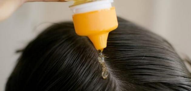علاج الشعر من اضرار سحب اللون