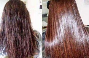 علاج الشعر المحروق تجارب.