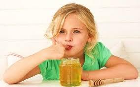 العسل للاطفال