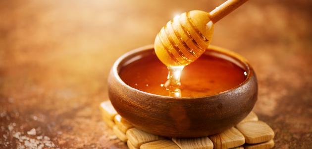 العسل للتخسيس