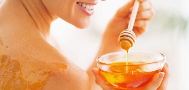 علاج العسل للحروق