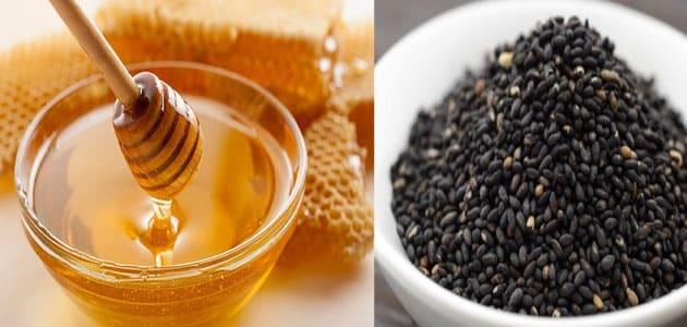 علاج قرحة المعدة بالعسل وحبة البركة