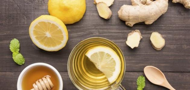 فوائد العسل والليمون للسخونه