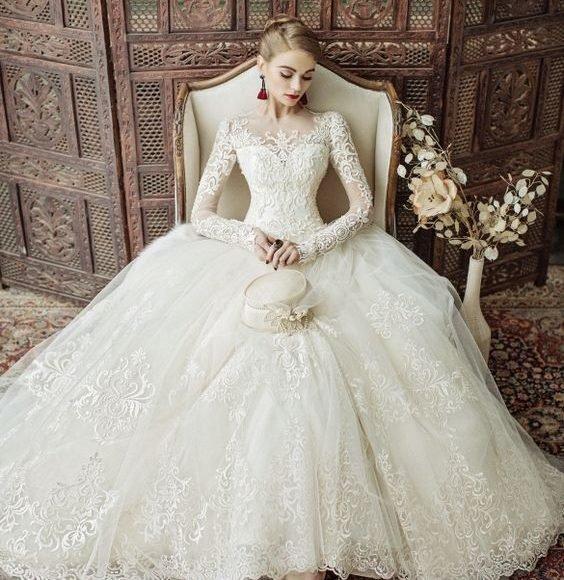 مواقع شراء فساتين زفاف من تركيا