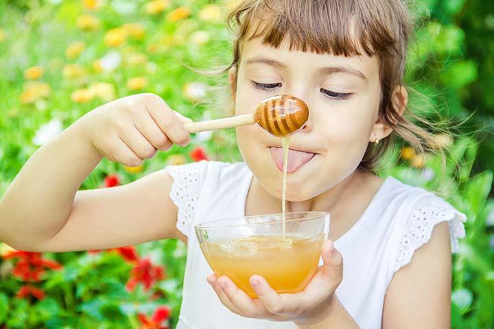 هل العسل يفتح الشهية للاطفال