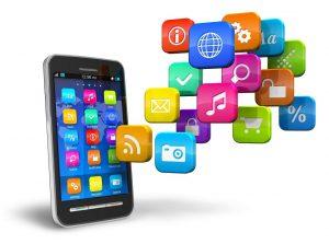 تصاميم تطبيقات الهواتف الذكية