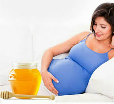 العسل والحمل في الشهر الخامس
