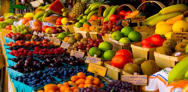 الخضار والفواكه في تركيا