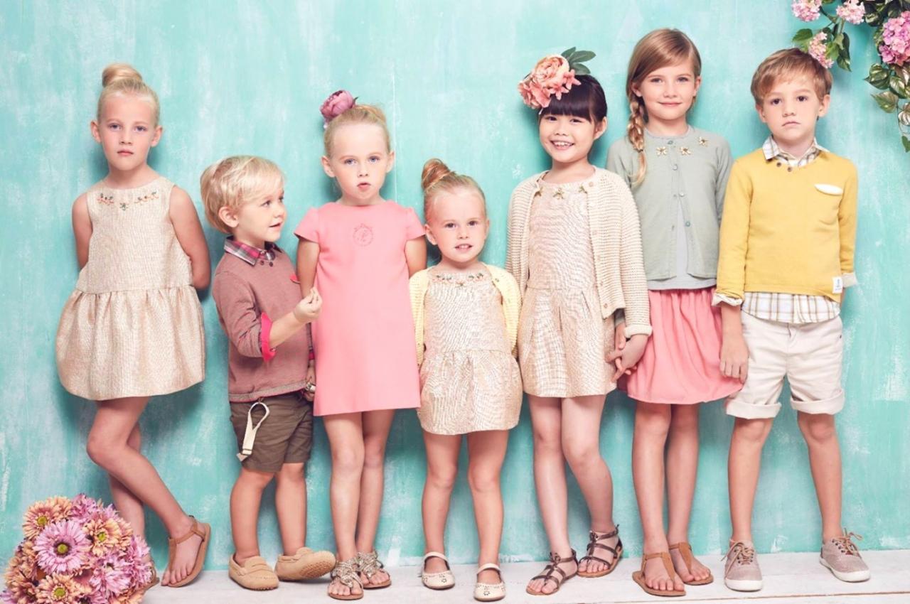 مراحل تصنيع ملابس الاطفال
