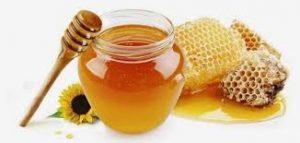 العسل للصدفية