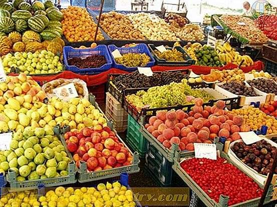 سوق الخضار والفواكه في اسطنبول