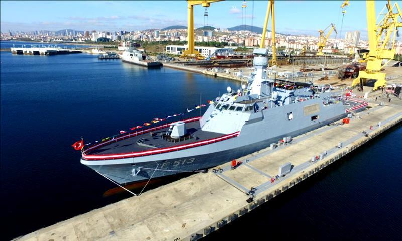 صناعة السفن في تركيا