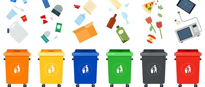معمل تدوير النفايات في تركيا