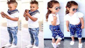 مقاسات ملابس الاطفال
