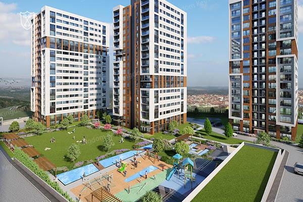 مشروع شقق سكنية في إسطنبول