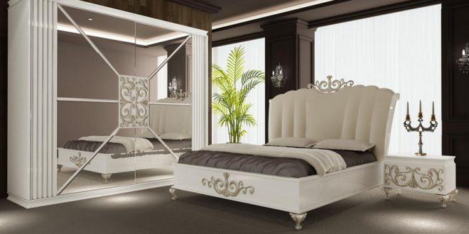 غرف نوم تركية بيضاء في العراق