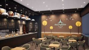 مشروع مقهى في إسطنبول