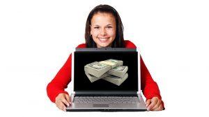 الفائدة المادية من المواقع الالكترونية