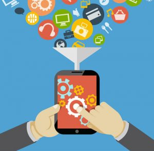 مميزات التطبيقات الالكترونية